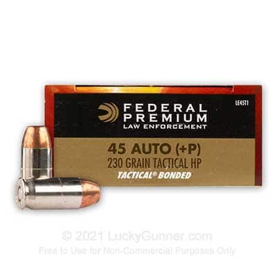 Federal Tactical Bonded LE +P