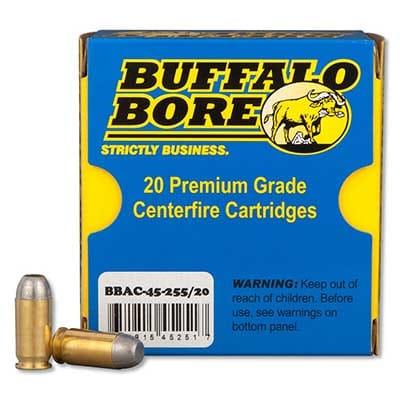 Buffalo Bore Outdoorsman +P HCFN