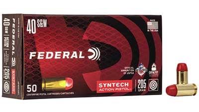 ederal American Eagle Syntech Action Pistol .40 S&W 205 Grain