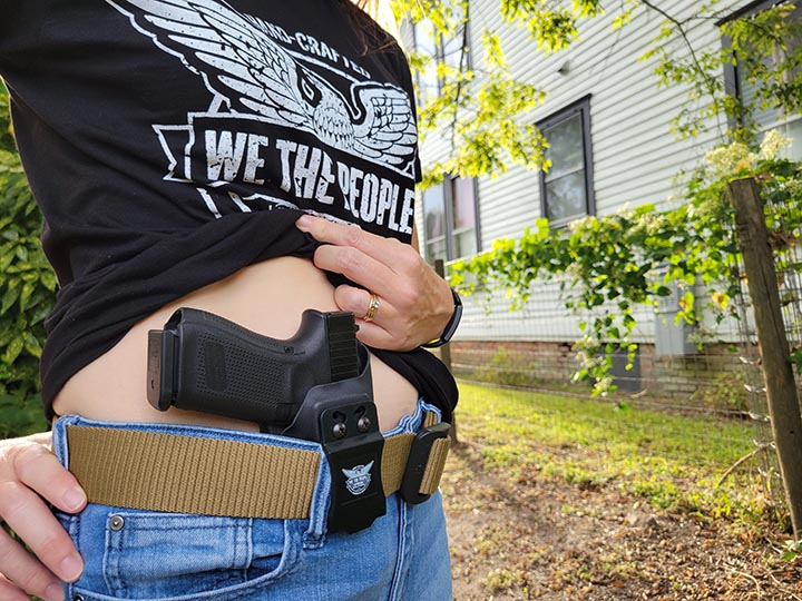 Alice with the WTP IWB Holster